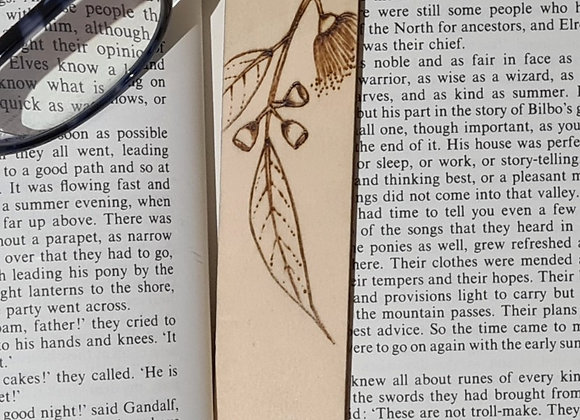 Plywood Bookmark - Australian Natives Design