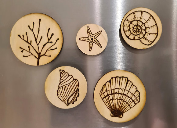 Magnet Set of 5 - Under the Sea Collection