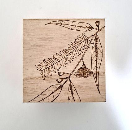 Small Trinket Box - Australian Native Design