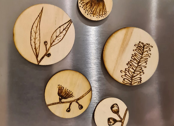 Magnet Set of 5 - Australian Native Collection
