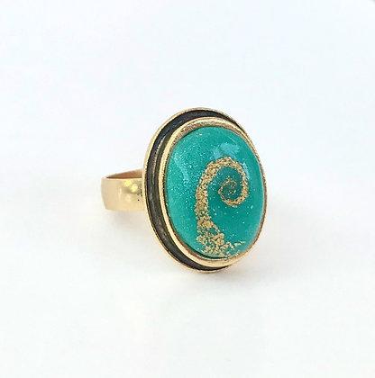 Spiral Journey Ring (Adjustable)