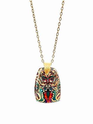 Natasha Polymer Clay Pendant Necklace