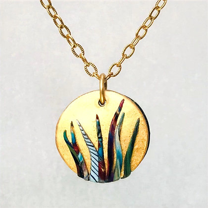 Unalaska Spirit Grass Necklace