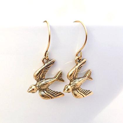Soaring Bird Earrings