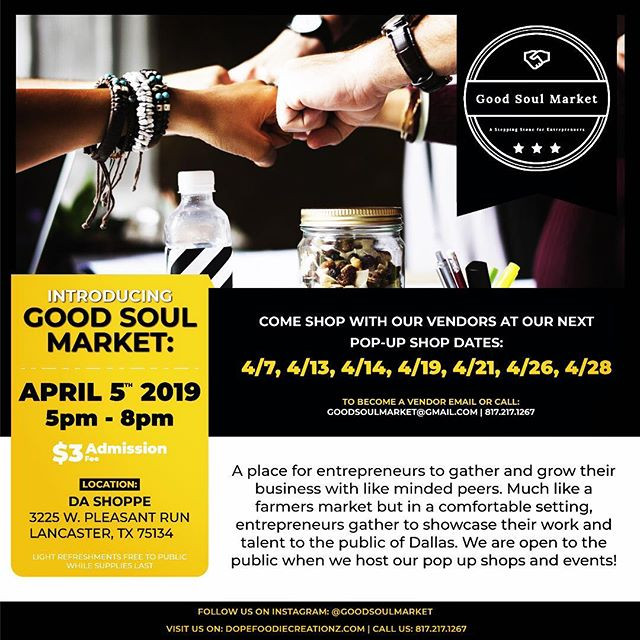 Social Media Flyer for _goodsoulmarket__