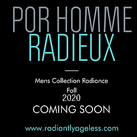 Radiantly Ageless Por Homme Radieux