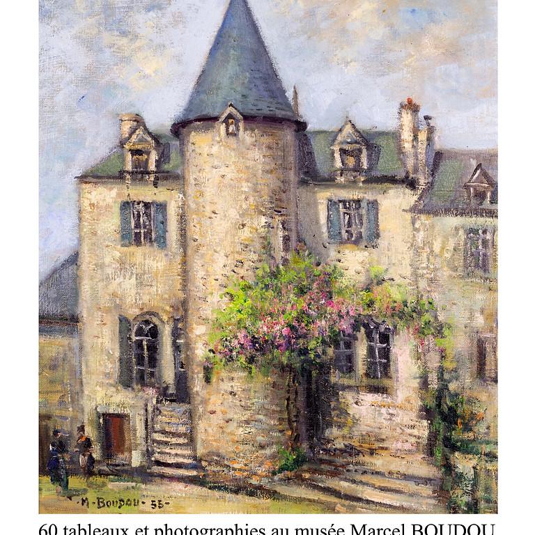 EXPOSITION Marcel Boudou et Jeanne Saint-Gaudens