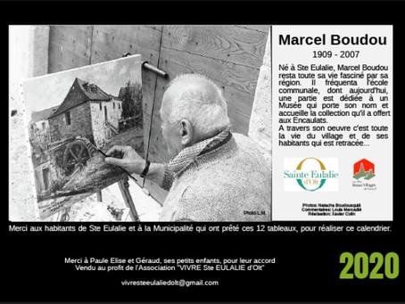 Le calendrier Marcel Boudou 2020