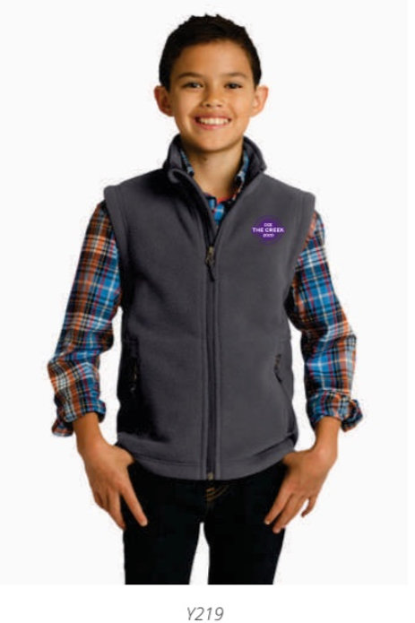 Youth Fleece Vest