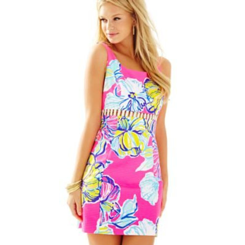 Lilly Pulitzer Iggy Shift Kir Royale Swept by the Tides SIZE 2 NEW WITH TAGS