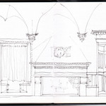 Palazzo Ducale (elevation of room adjace