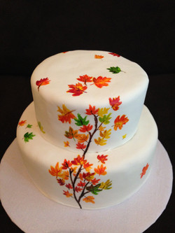hand-painted cakes
