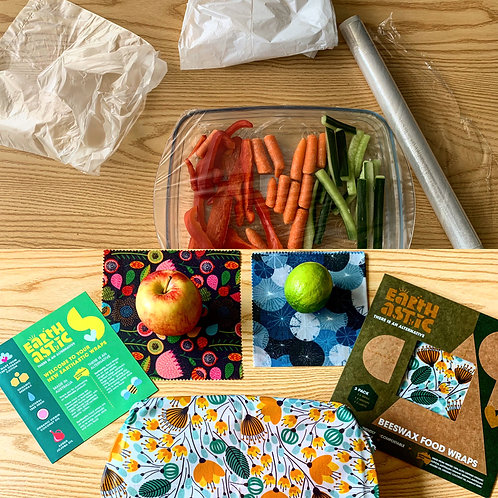 Earthastic Reusable Food Wraps