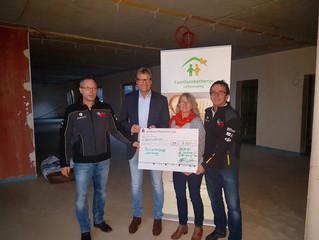 ESBA Racing spendet 3.000.-€ für die Familienherberge Lebensweg