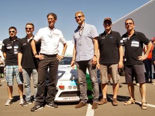 Soziales Engagement: Weltmeister Guido Buchwald ist Schirmherr von ESBA Racing