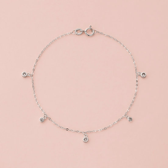 Czech Crystal Chain Bracelet