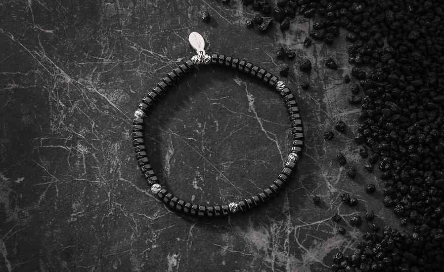 ○ Hematite Disc Bracelet ○