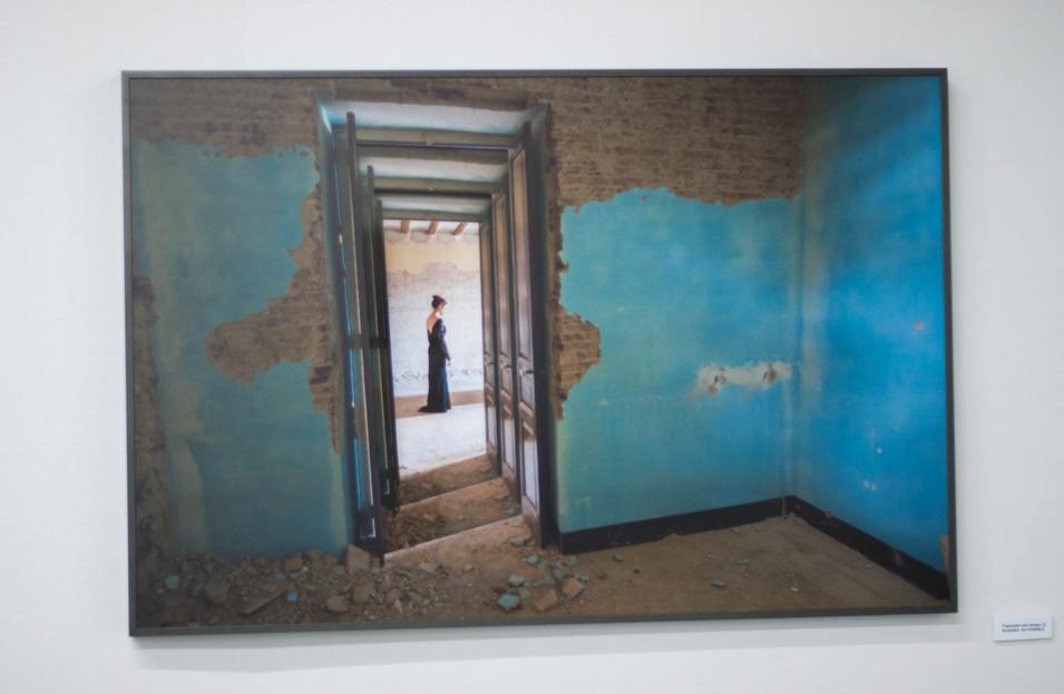 caja de alumnio 50x60cm, fotografía y metacrilato