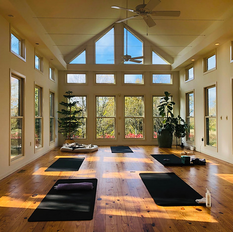 Our yoga studio