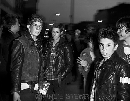 Outside CBGB