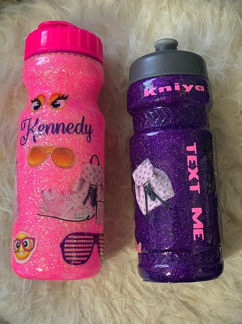 Glitter Plastic Drinkware