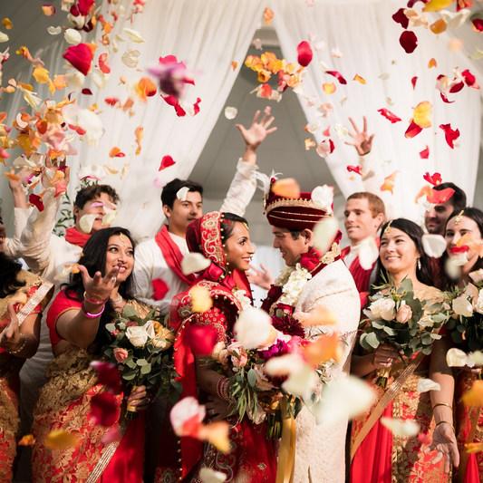 Oriental wedding