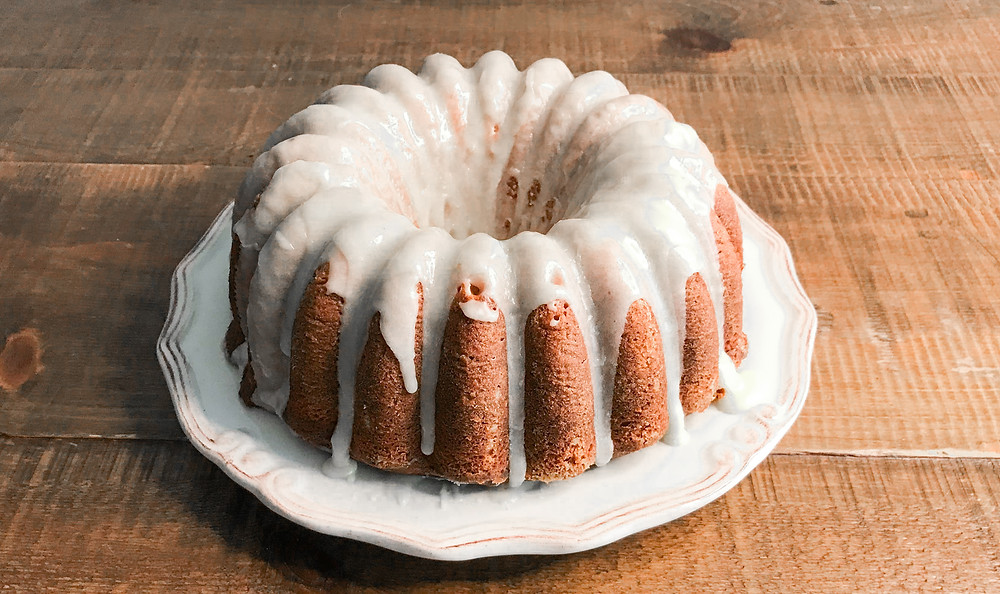 Vanilla Bundt Cake with Vanilla Glaze
