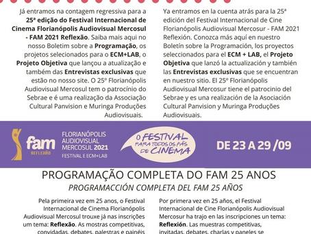 Inscríbete Festival Internacional de Cine Florianópolis Audiovisual Mercosur