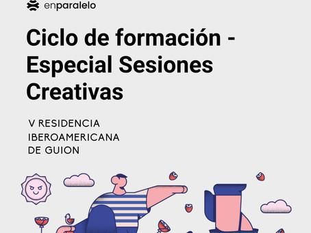 Ciclo de formación - Especial Sesiones Creativas.