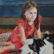 One of Lee's paintings