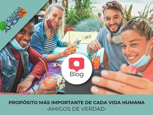 PROPÓSITO MÁS IMPORTANTE DE CADA VIDA HUMANA