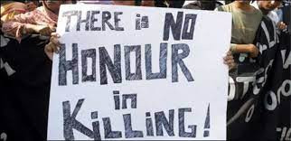 Are killings in the name of honour justified?