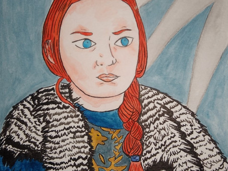 Dibujo de Sansa Stark (Game of Thrones)