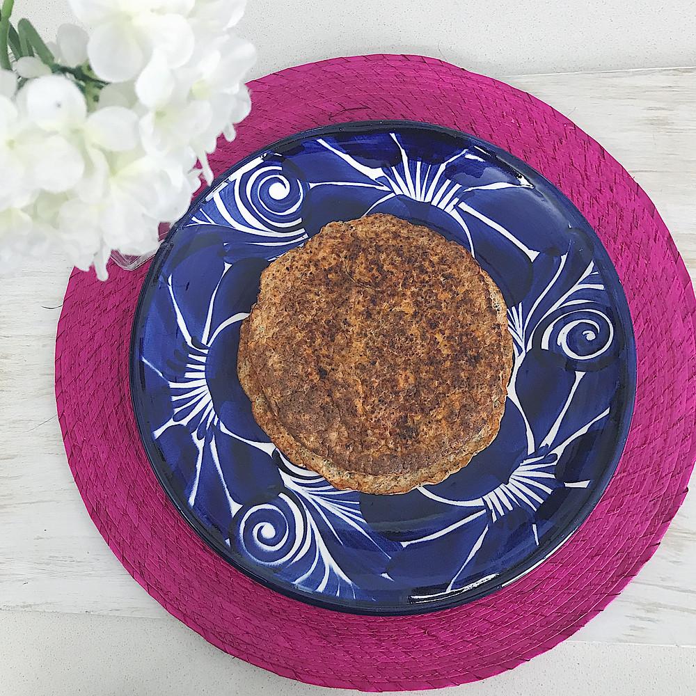 Pancakes de zanahoria y chía