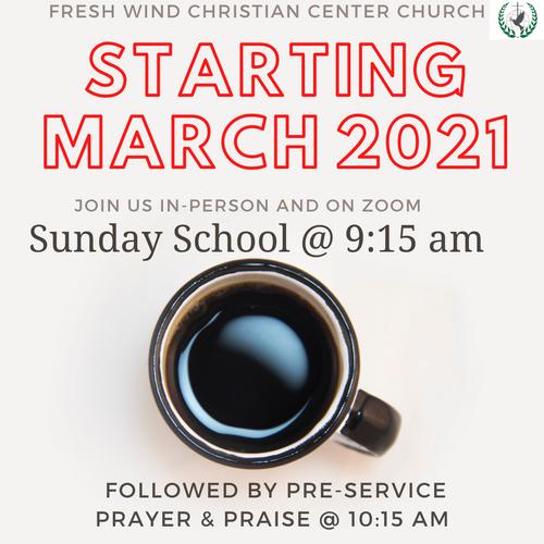 Sunday School & Prayer