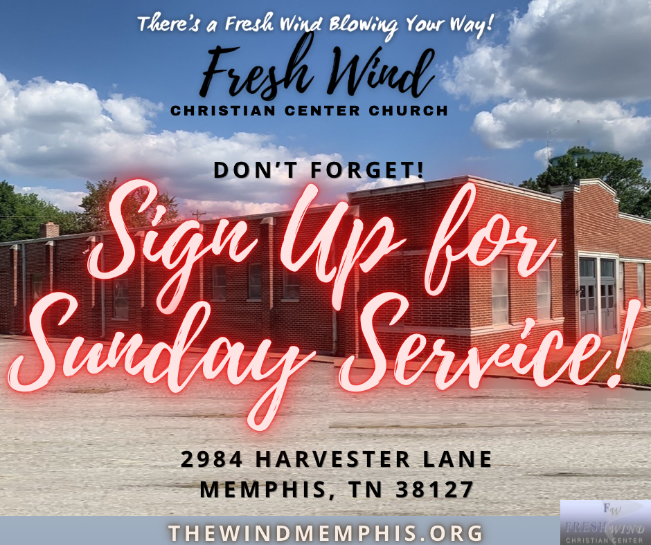 Sign Up for Sunday Services!