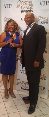 Interview on the VIP Red Carpet | Gospel Image Awards