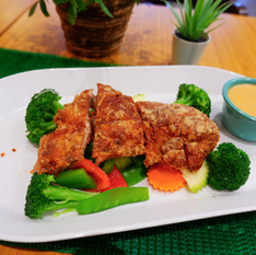 Crispy Duck Special with Panang Sauce