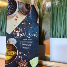 Thai Seed Menu