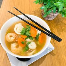 Tom Yum Noodle Soup (Seafood)