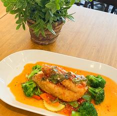 Snapper Fillet with 3 Flavors Sauce