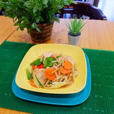 Pah Khing (Stir Fried Ginger)
