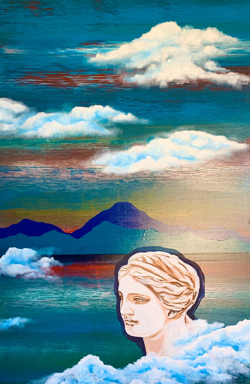 """Woman. Water. Mountains. Venus"" 2 part of diptych / ""Женщина. Вода. Горы. Венера"" 2 часть диптиха"