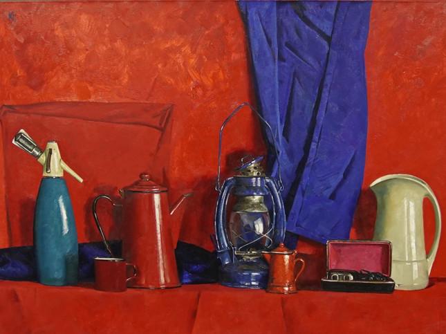 Still life on red / Натюрморт на красном 2014