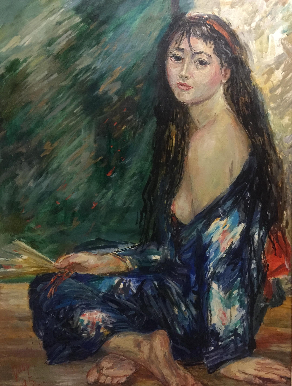 Blue kimono / Синее кимоно