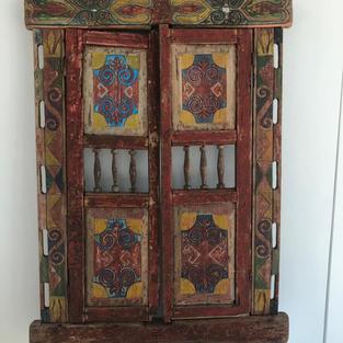 «Дверь юрты» Западный Казахстан 1950г.