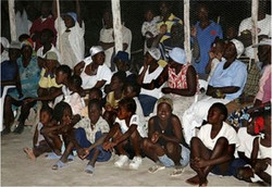 The children of Mapou Rollin