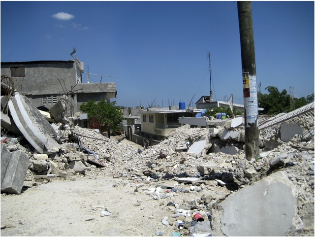 Streets Covered in Rubble