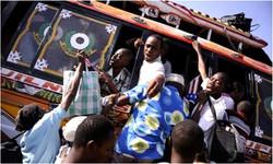 Boarding a Bus to Seek Refuge