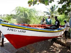 Freshly Painted Boat